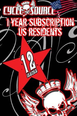 1 YEAR PRINT ONLY Subscription  - US Subscribers